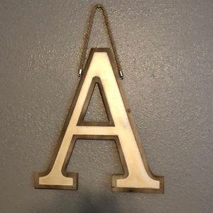 Kirkland's monogram A